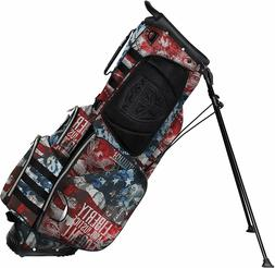 Subtle Patriot Covert 15 Club Golf Stand Bag - 5 WAY DIVIDER