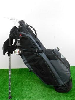 OGIO Custom Cirrus MB Stand Bag CC Logo W Rain Hood Black Ne