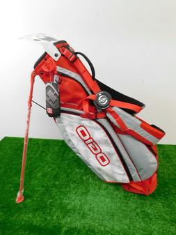 OGIO Custom Cirrus MB Stand Bag CC Logo W Rain Hood Rush Red