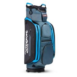 Titleist Deluxe Club 14 Cart Golf Bag  NEW Silver Black Blue