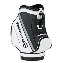 TaylorMade Den Caddie Golf Bag White/Black N6545601 New 2019