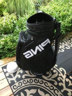 PING DISPLAY CLUB FITTING STAFF GOLF BAG   BLACK $39.95 USA/