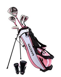 Distinctive Girls Pink Junior Golf Club Set for Age 6 to 8