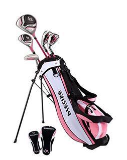 Precise Distinctive Girls Right Handed Pink Junior Golf Club