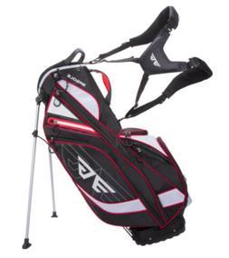 EG 8 Pockets, 4.3 lbs Golf Stand Bag /  Color Black, Red, Wh