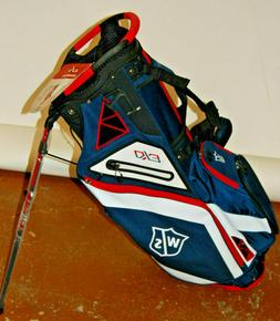 Wilson EXO 5-Way Carry Bag Navy / White / Red - MINT