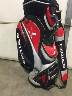 Tour Edge Exotics golf pro shop tour bag, New Condition, nev