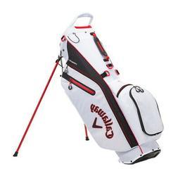 Callaway Fairway C Double Strap  Stand Golf Bag - White/Blac