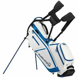 TaylorMade FlexTech Crossover Golf Stand Bag White/Blue New