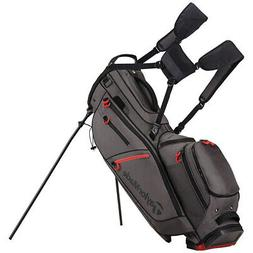TaylorMade FlexTech Crossover Golf Stand Bag Gray 2017 Carry