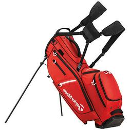 TaylorMade FlexTech Crossover Golf Stand Bag Red 2017 Carry
