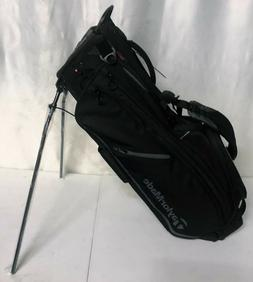 TaylorMade FlexTech Crossover Stand Bag - Black - New With T