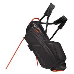 flextech crossover stand golf bag blood orange