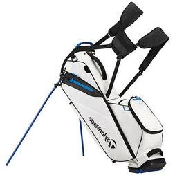 TaylorMade FlexTech Lite Golf Stand Bag White Carry Bag New