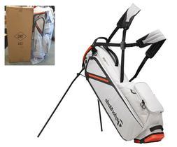TaylorMade Flextech Lite Stand Golf Bag - Silver Blood Orang