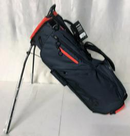 TaylorMade FlexTech Stand Bag - Titanium Blood Orange - New