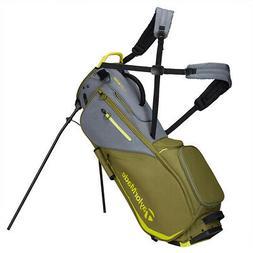 TaylorMade FlexTech Yarn Dye Stand Golf Bag 2020 Gray/Dark A
