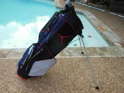 Sun Mountain Front 9 Stand Bag - Blue/White/Red NEW!
