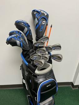 FULL SET PING G30 Golf Clubs Driver 3 Wd Hybrids 5-LW + Bag