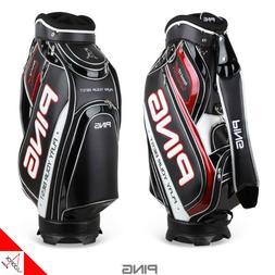 """PING G8 Mens Sporty Caddie Bag Cart 9"""" 5Way 9 lbs PVC, PU- A"""