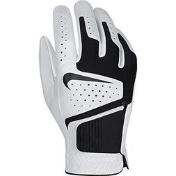 Nike GG0471 101 Dri-Fit Tech Cadet Golf Glove, Medium, White