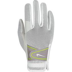 Nike GG0473 107 Women's Summerlite Golf Gloves, Medium, Whit