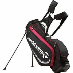 TAYLORMADE GOLF 2017 4.0 STAND BAG -BLACK/FUCHSIA/SILVER- 4-