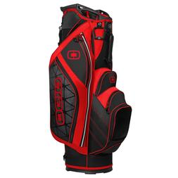 OGIO Golf 2016 Cirrus Cart Bag Red 14 Way Divided Top Divide
