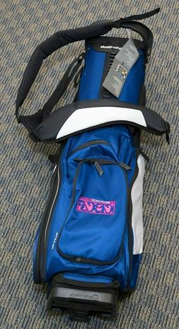 TaylorMade Golf 2017 TM Stand Bag 5.0, Navy Blue black and w