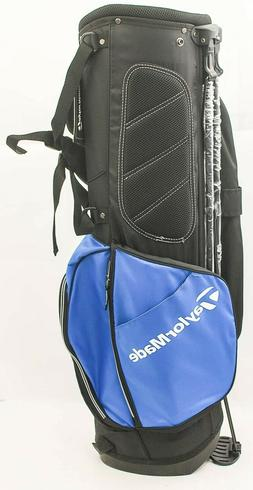 TaylorMade Golf 2017 TM Stand Golf Bag 5.0 Blue/Black/White