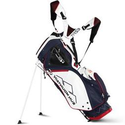 Sun Mountain Golf 2018 4.5 14-Way Stand Golf Bag NAVY-WHITE-