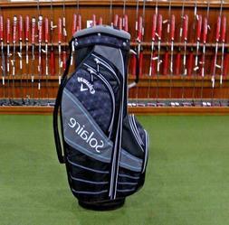 Callaway Golf 2018 Ladies Solaire Cart Bag - Black / Charcoa