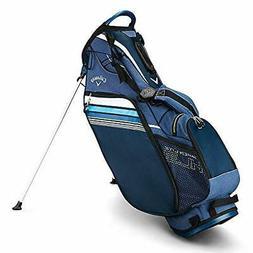 Callaway Golf 2019 Hyper Lite 3 Stand Bag Navy/Blue/White Do