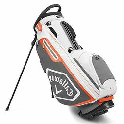 Callaway Golf 2020 Chev Stand Bag White/Charcoal/Orange