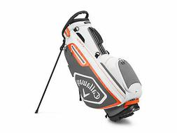 Callaway Golf 2020 Chev Stand Bag-White-Charcoal-Orange 5120