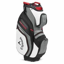 Callaway Golf 2020 ORG 14 Cart Bag-White-Charcoal-Black-Red