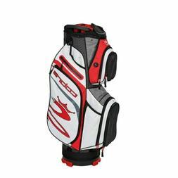 Cobra Golf 2020 Ultralight Cart Bag Black-High Risk Red-Whit