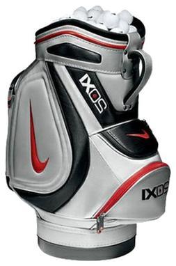 NEW Nike Golf 20XI Staff / Tour Mini Range Bag Silver / Blac