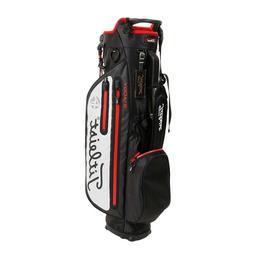 Titleist Golf 4UP Waterproof Stand Bag TB8SX2-BKWT Black x W