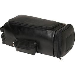 Leather Golf Shoe and Accessory Bag