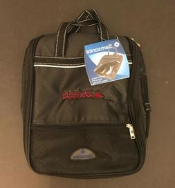 Samsonite Golf Accessory Deluxe Shoe Bag Black 616 - Embroid