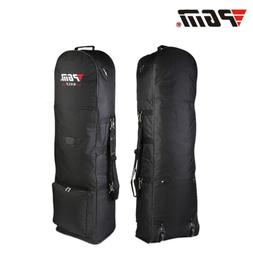 PGM Golf Air Travel Bag 2-Wheels Carry Foldable Flight Consi