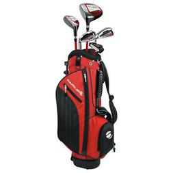 Orlimar Golf ATS Junior Boy's Red/Black Kids Golf Set