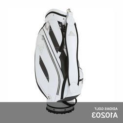 Adidas Golf AWR84 High Men's Caddie Cart Bag 9.5In 6-Way 8lb