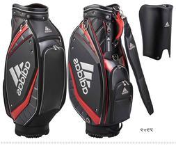 bbefb8e3a2 adidas Golf AWU25 Silver Logo Men s Caddy Bag 9.5 x 47 inch