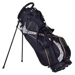 Tangkula Golf Bag 7 Way Divider Light Weight Portable Golf C