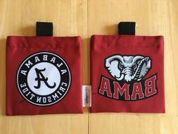 GOLF BAG ACCESSORIES POUCH CADDY - Alabama Crimson Tide