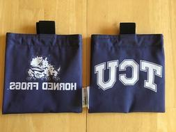 GOLF BAG ACCESSORIES POUCH CADDY - TCU Horned Frogs