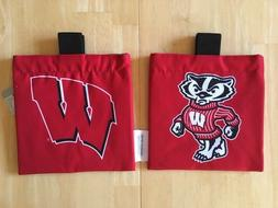 GOLF BAG ACCESSORIES POUCH CADDY - University of Wisconsin B