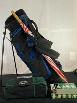 Jack Nicklaus Golf Bag and Accessories - New